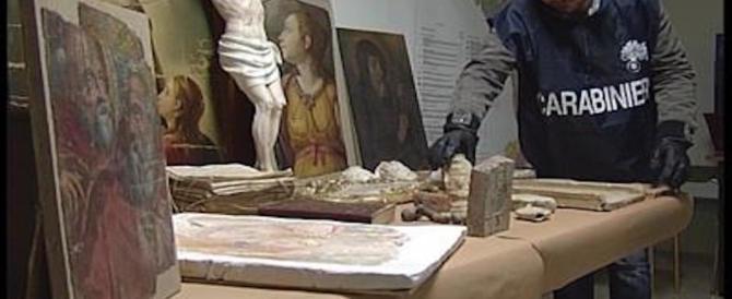 Antiquario organizza un furto di opere d'arte: nei guai anche un sacerdote