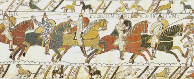 Incredibile Macron: presterà all'Inghilterra l'inestimabile Arazzo di Bayeux