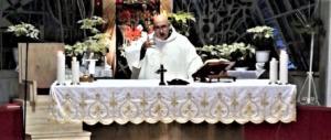 Padre Attilio nell'omelia: Il mio cuore è fermo a 40 anni fa. Ad Acca Larenzia
