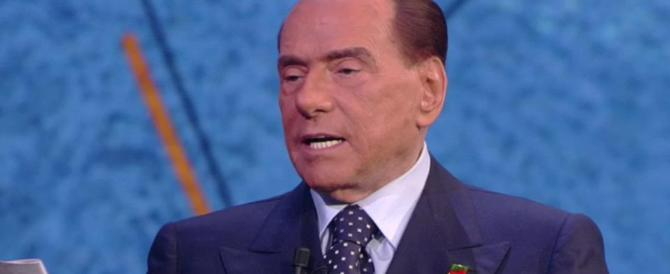 Berlusconi: «L'unico voto utile è per il centrodestra, l'Italia deve risorgere»