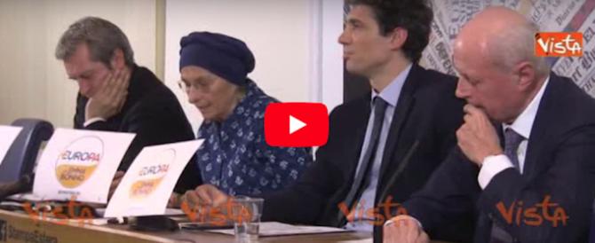 Elezioni, Bonino salva con una furbata: per evitare le firme usa il simbolo di Tabacci (video)