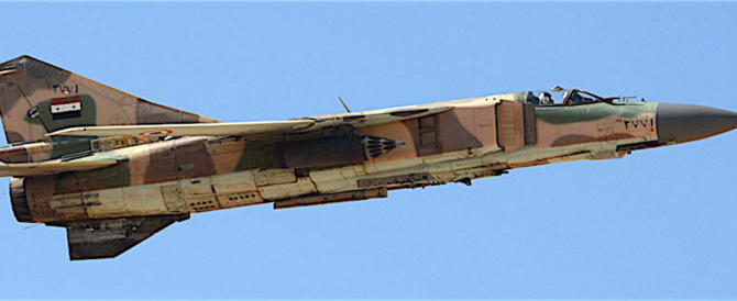 """Assad: """"Abbatteremo ogni aereo militare turco che violerà i nostri cieli"""""""