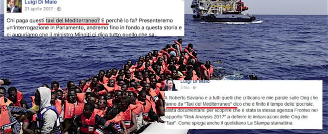Di Maio: «Mai detto che le Ong sono taxi per migranti». Ma spuntano le prove