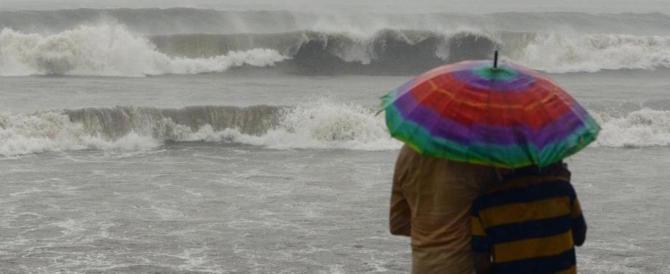 Il Meteo indica maltempo: vento, pioggia, mareggiate e ancora neve