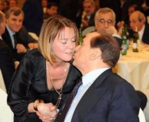 Beatrice Lorenzin quando era in Forza Italia con Berlusconi