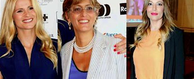 Hunzinker e Bongiorno querelano la Lucarelli: «Ci offende, noi aiutiamo davvero le donne»