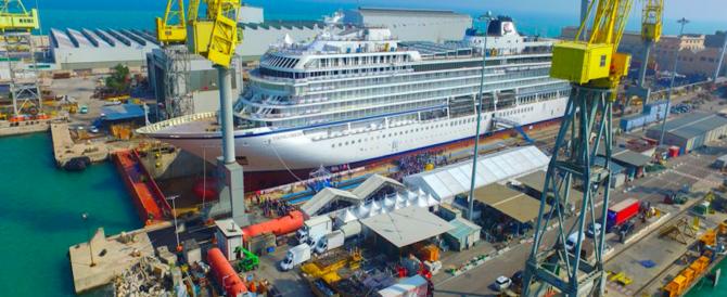 Cantieristica navale: un'eccellenza del Made in Italy affossata dalla sinistra al governo