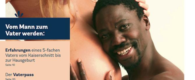 Tedesca incinta con migrante: infuria la polemica sul magazine delle mamme