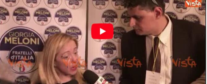 Fascismo, l'Anpi denuncia Meloni. Lei risponde con una pernacchia (video)