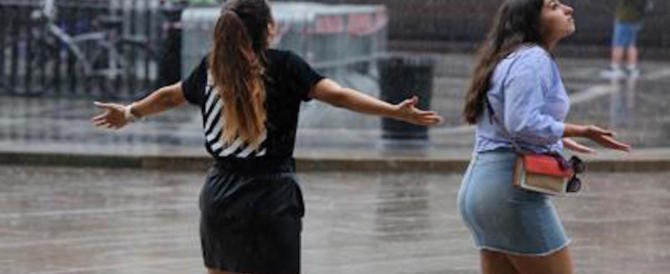 L'inverno non finisce: pioggia e temporali per tutta la settimana