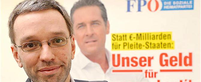 I migranti? Vanno messi in appositi campi… Bufera sul ministro austriaco