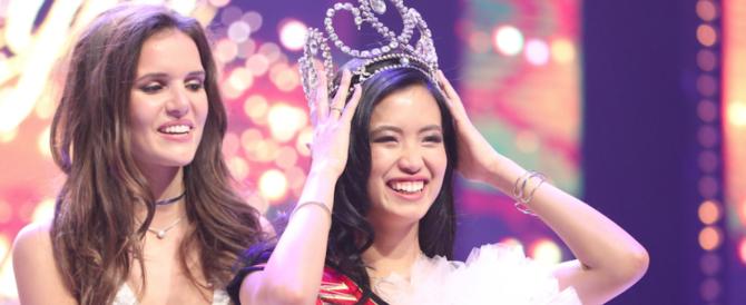 Al concorso di Miss Belgio vince una filippina: scattano le proteste sul web