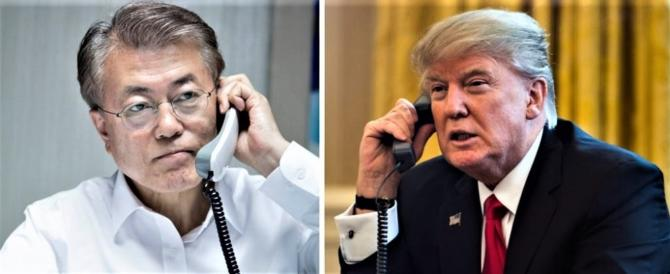Seul ringrazia Trump per aver creato le condizioni del dialogo con Kim