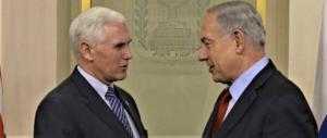 Mike Pence da Netanyahu, Abbas corre a chiedere aiuto alla Ue