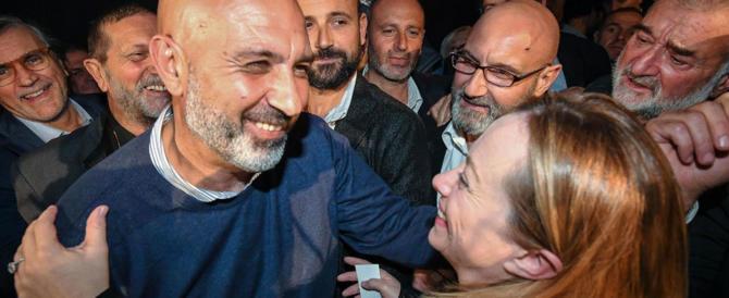 Regione Lazio, Pirozzi: «Faccio un passo indietro se si candida la Meloni»