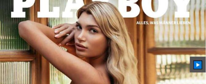 Crolla un altro mito: Playboy sceglie un trans per la sua prima pagina