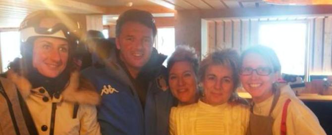 """Renzi su Twitter: """"Troppa neve, non si può sciare"""". La replica da Amatrice: """"Anche qui"""""""