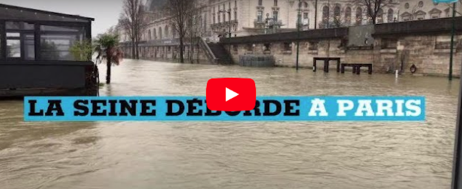 Maltempo, a Parigi è allarme Senna: chiusure al Louvre e disagi in metro (video)