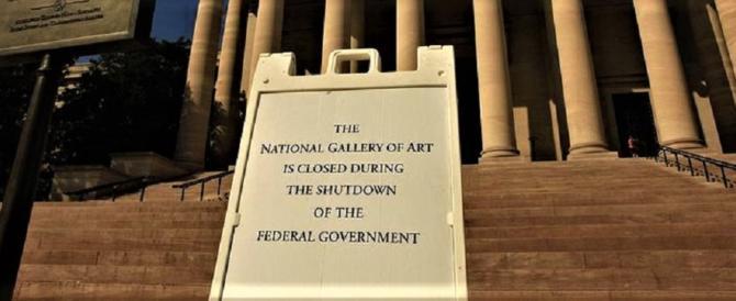 Shutdown: per odio verso Trump i dem non esitano a paralizzare il Paese
