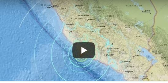 Terremoto 7.3 in Perù: è allarme tsunami. La terra trema pure in Afghanistan (I VIDEO)