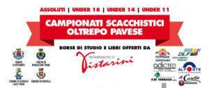 Primi Campionati Scacchistici Oltrepò Pavese al via il 26 gennaio