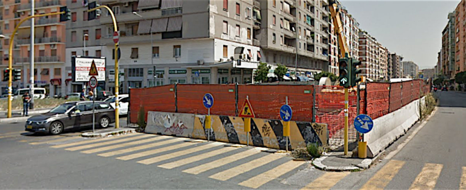 FdI: i cantieri di via Tiburtina bloccati da 5 anni, grillini immobili