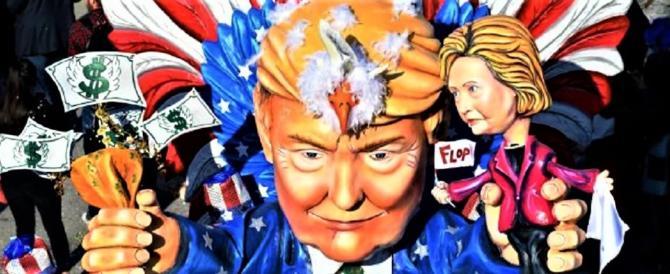Viareggio, Trump e Kim di cartapesta al Carnevale più irriverente del mondo