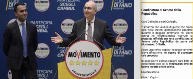 Ira degli avvocati romani: spamming elettorale del presidente, candidato M5S