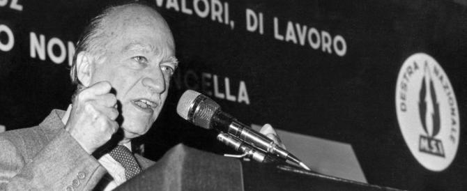 """Emiliano va un convegno su Almirante: """"linciato"""""""" da Anpi e boldriniani"""