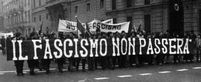 La manifestazione antifascista a Roma? La fiera degli opportunisti