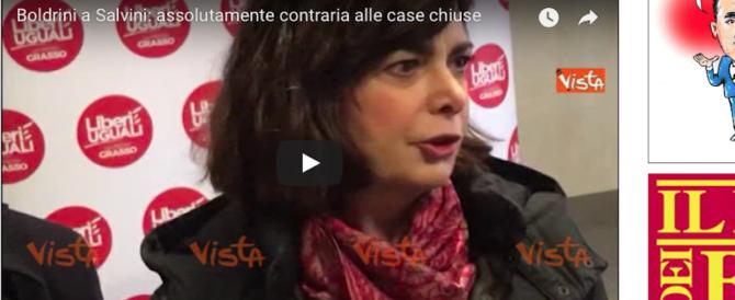 La Boldrini attacca ancora Salvini: «Vuole l'albo dei papponi» (video)