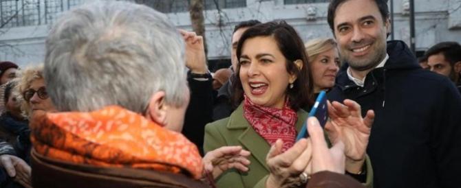 Alla fine la Boldrini si sveglia e condanna i cori di Macerata