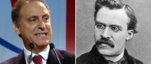 """Cesa a sorpresa evoca Nietzsche: i moralisti (del M5S) sono da """"impiccare"""""""