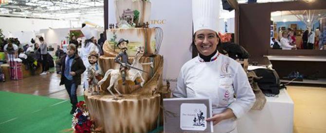 Con la torta su Don Chischiotte vince il campionato italiano di pasticceria