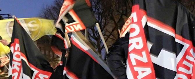 Blitz di FN negli studi di La7. Floris: inaccettabile, ma non erano violenti