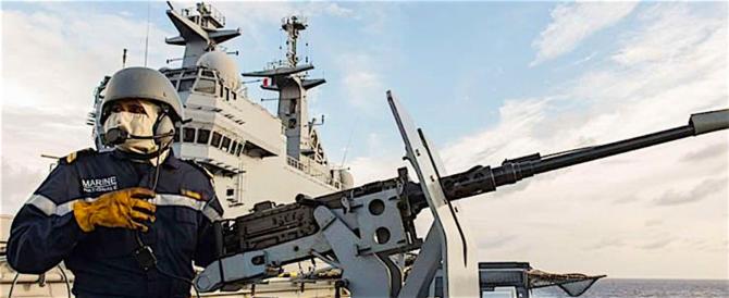 Nave Eni: quando successe alla Francia, Parigi inviò navi da guerra