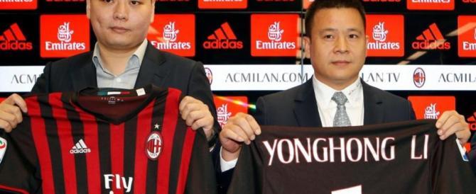 """L'imprenditore cinese che ha comprato il Milan? """"È insolvente"""""""