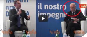 """Minniti evita mister """"frittura"""" ma non De Luca jr. E la sua faccia dice tutto… (video)"""