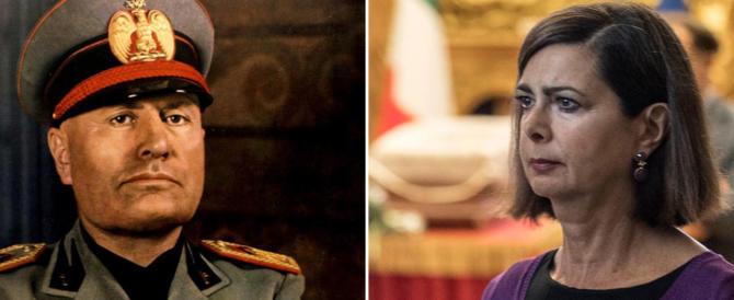 Mantova revoca la cittadinanza onoraria al Duce? La solita Boldrini esulta