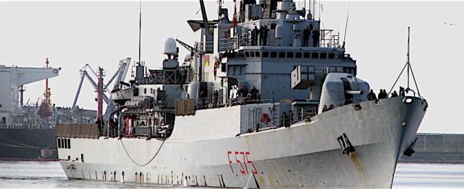 Nave italiana sequestrata a Cipro: ma la fregata Euro se ne va in Spagna