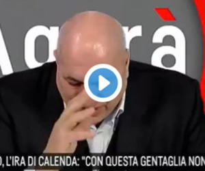 FdI, il pianto di Guido Crosetto in tv: «Su quei licenziati…» (video)