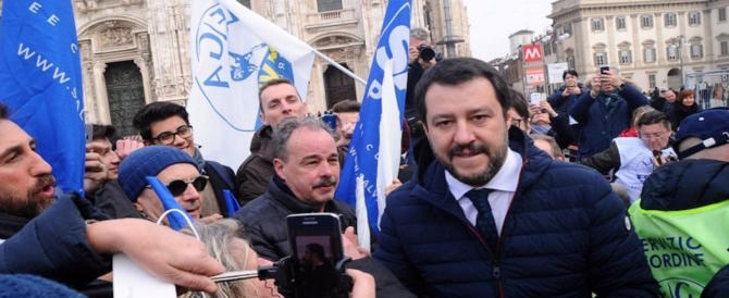Sondaggio: valanga Lega se si tornasse al voto. Salvini al 22,3%
