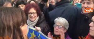 Boldrini a Milano al corteo antifascista: ce la faremo, no pasaran… (video)
