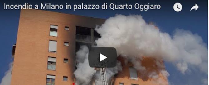 Incendio di Milano, non ce l'ha fatta il 13enne gravemente intossicato (Video)