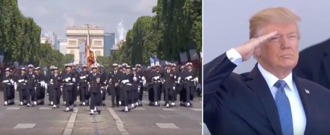 Washington come Parigi, Trump vuole una parata militare come quella del 14 luglio
