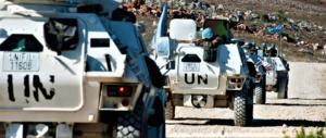 Il Libano ringrazia i militari italiani: ci aiutano a mantenere la pace