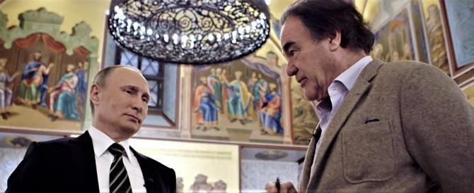 Russia, via libera alla messa in onda del docufilm di Oliver Stone su Putin