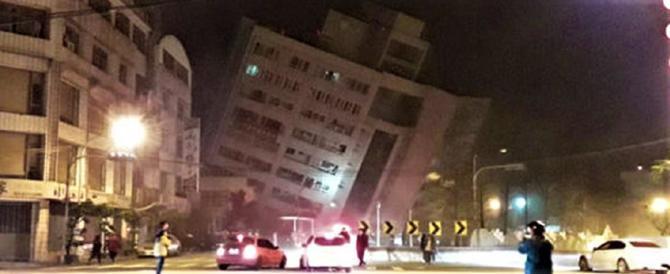 Terremoto di magnitudo 6.4 a Taiwan. Crolla un albergo, ospiti intrappolati