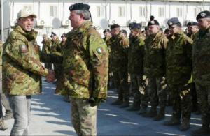 Alfano ad Herat, in versione Rambo d'estate