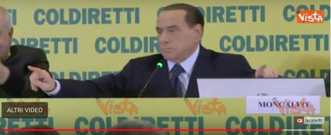 Berlusconi: «Daremo mille euro alle mamme. E voglio l'applauso» (video)